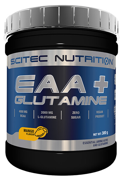 EAA+ Glutamine Scitec Nutrition 300 g Pink-Limonade